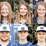 Six headshots stitched together. The top three are Ashlyn, Jaycee and Hannah, and the bottom three are Kade, Dominyk, and Jacob.